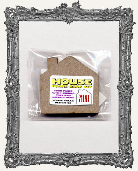 Mini Chipboard House Book Kit