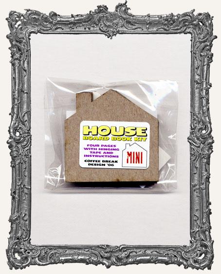 Mini Chipboard House Book Kit