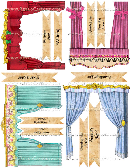 Theatres Collage Sheet by Cassandra VanCuren - CV26
