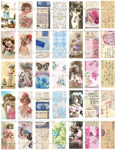 Domino Collage Sheet by Cassandra VanCuren - CV34