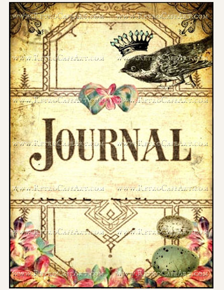 5 x 7 Journal Cover Image by Debrina Pratt - DP192
