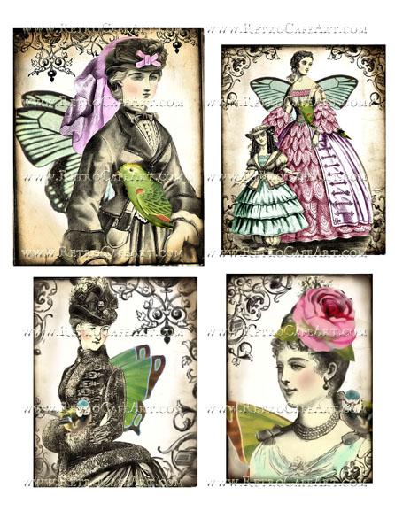 Collage Sheet by Debrina Pratt - DP268