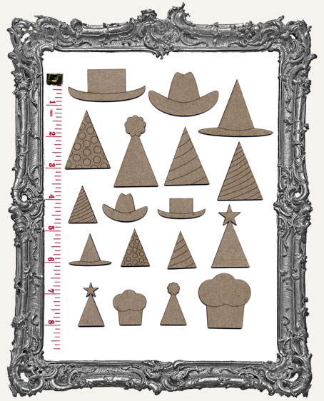 Collage Cut-Outs Accessory Line - Hats