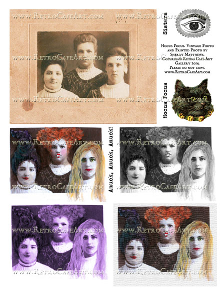 Hocus Pocus Collage Sheet