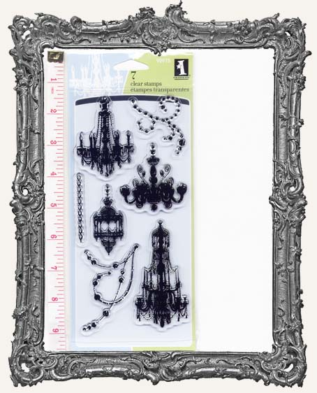 Chandeliers Clear Stamp Set