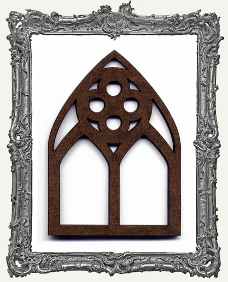 ATC Arch - Versaille Quatrefoil Gothic Arch Window