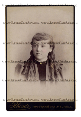 Maggie Cabinet Card Digital Image