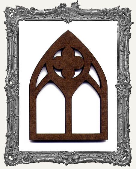 ATC Arch - Classic Quatrefoil Gothic Arch Window