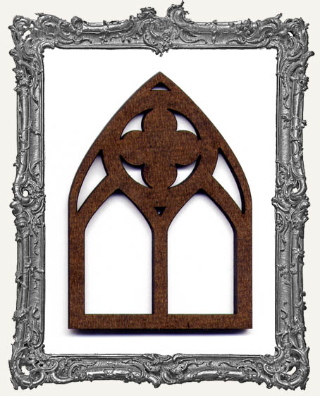 ATC Arch - Fancy Quatrefoil Gothic Arch Window