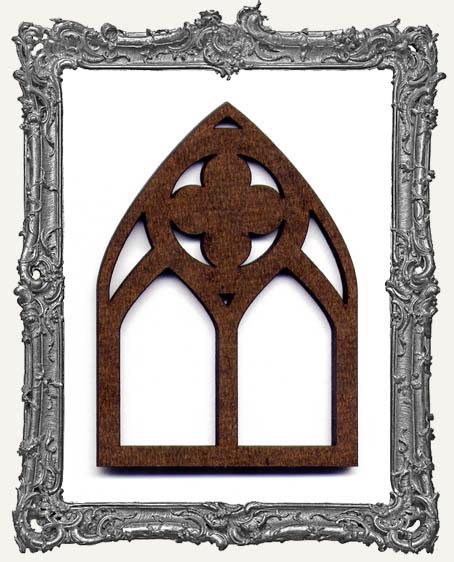 ATC Arch - Fancy Quatrefoil Gothic Arch Window