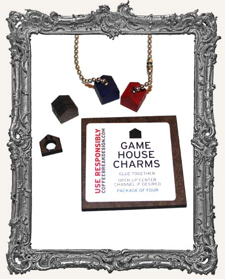 Game House Charms PACKAGE OF 4