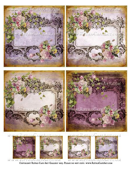 Tuscan Wine Collage Sheet - SC56