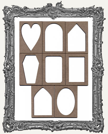 ATC Frame - Set of 8 BASIC SHAPES