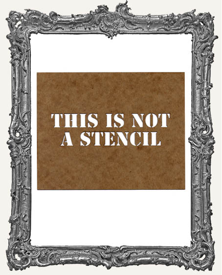 Not A Stencil