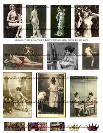 Vintage Nudes 1