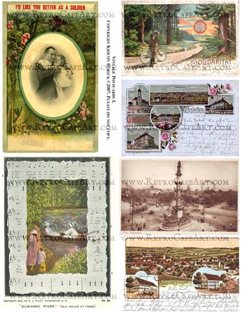 Vintage Postcards 1