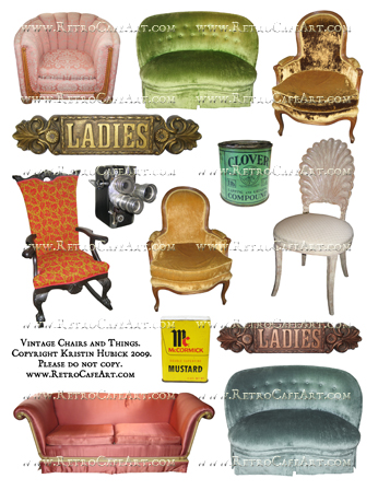 Vintage Chairs and Things