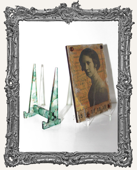 ATC Easel Stand CLEAR ACRYLIC - PACK OF 2