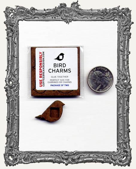 BIRD Charm El Tiny Trinket PACKAGE OF 2
