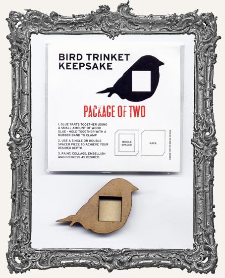 Bird Trinket Keepsake Kit PACK OF 2