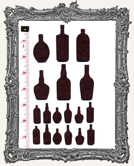 Potion Bottles and Label Stickers Set