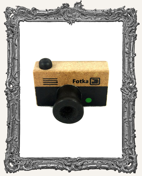 Camera Mounted Rubber Stamp - Fotka Style