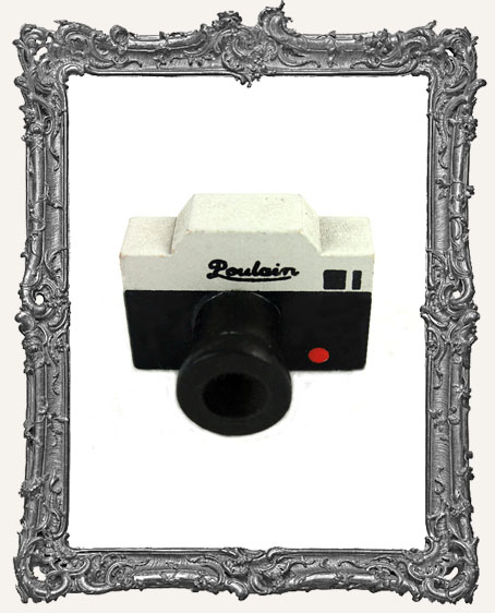 Camera Mounted Rubber Stamp - Poulain Style