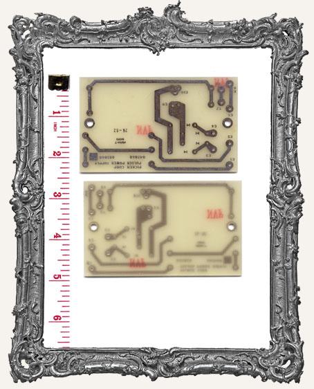 Medium Vintage Circuit Board - Pale