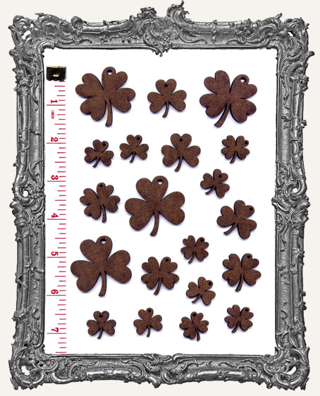 Clover Mix Set WITH CHARM HOLES - 20 Pieces