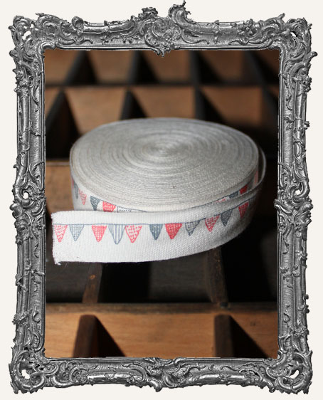 Cotton Ribbon 1 Yard - Flag Banner