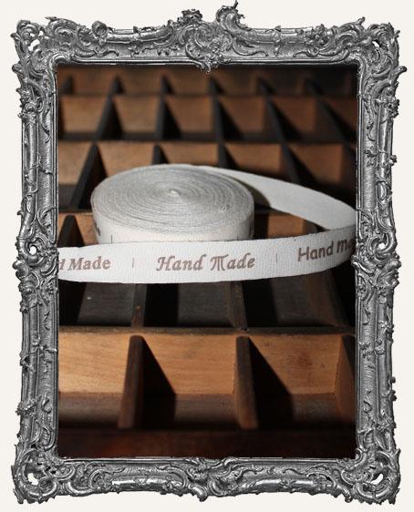 Cotton Ribbon 1 Yard - Handmade