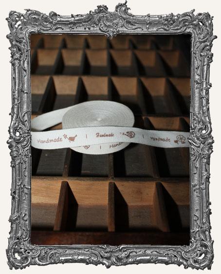 Cotton Ribbon 1 Yard - Handmade Whimsy