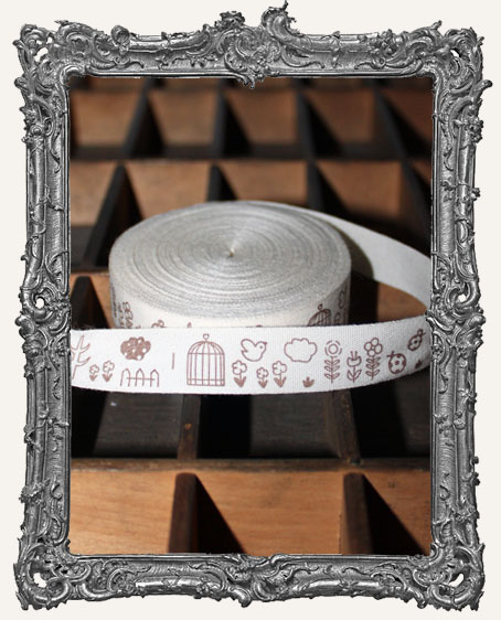 Cotton Ribbon 1 Yard - Spring Time
