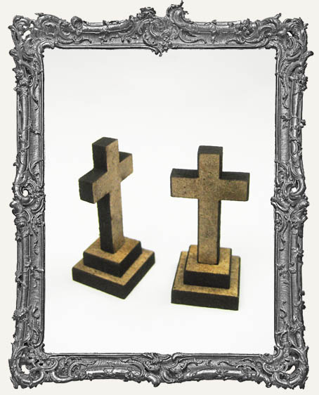 Cross Charm El Tiny Trinket PACKAGE OF 2