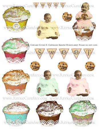Cupcake Cuties 2