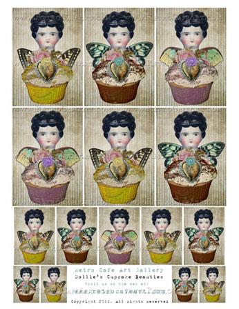 Dollie Cupcake Beauties