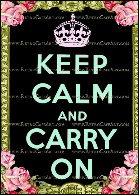 5 x 7 Keep Calm Image by Debrina Pratt - DP193