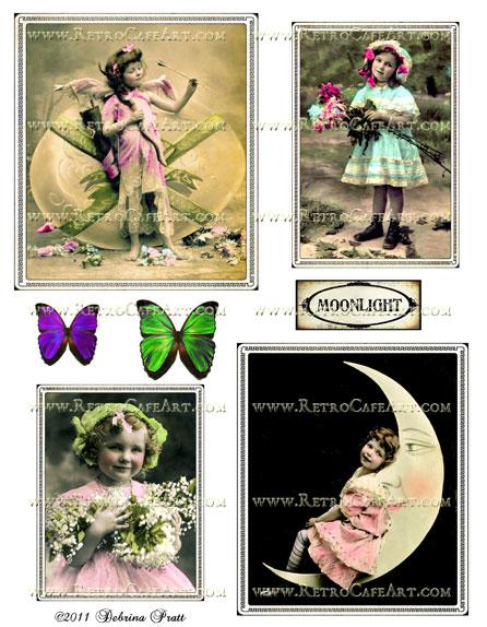 Collage Sheet by Debrina Pratt - DP227