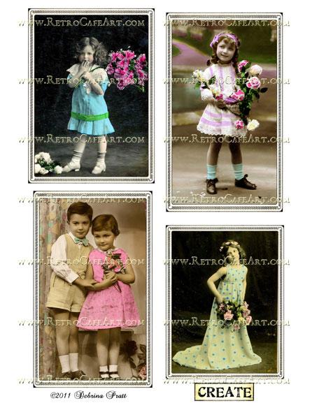 Collage Sheet by Debrina Pratt - DP230