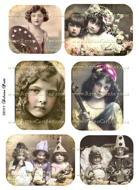 Collage Sheet by Debrina Pratt - DP234