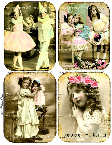 Collage Sheet by Debrina Pratt - DP236