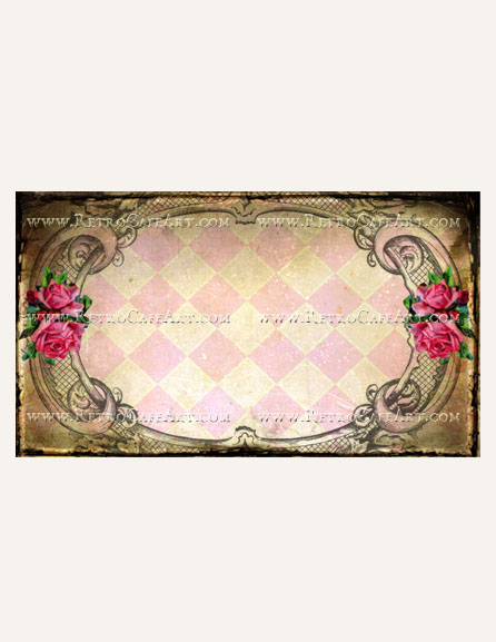 Beautiful Rose Business Card Template by Debrina Pratt - DP240