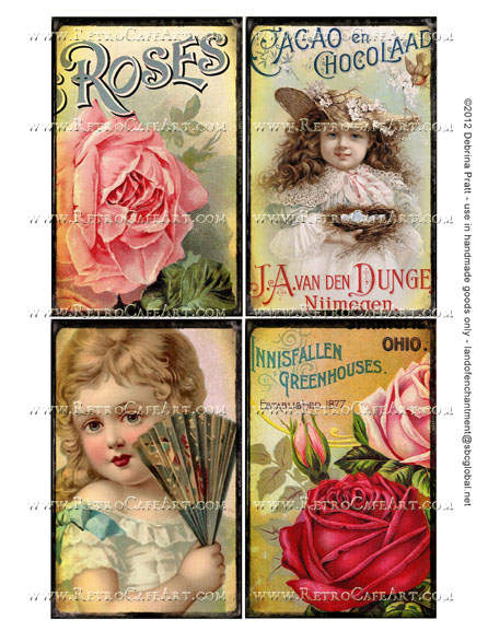 5.2 x 3.2 Inch Images Collage Sheet by Debrina Pratt - DP275