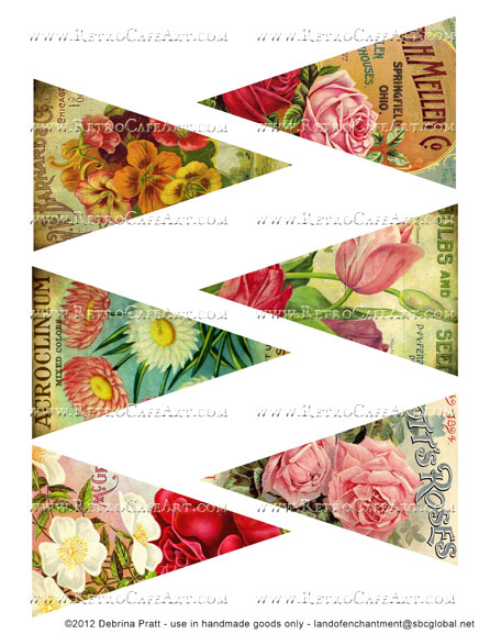 Banner Images Collage Sheet by Debrina Pratt - DP276