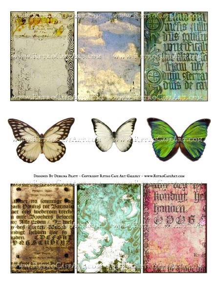 Elements Collage Sheet by Debrina Pratt - DP333