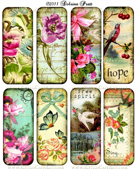 Collage Sheet by Debrina Pratt - DP52
