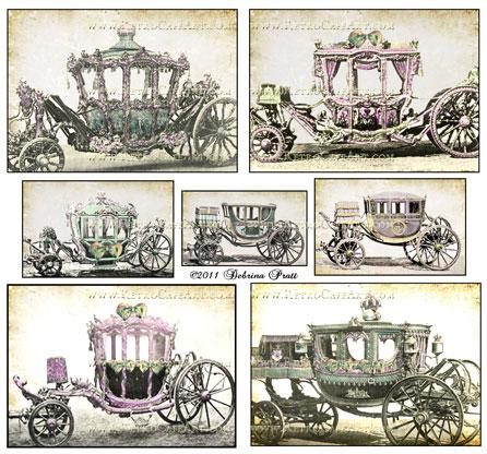 Cinderella Collage Sheet by Debrina Pratt - DP53