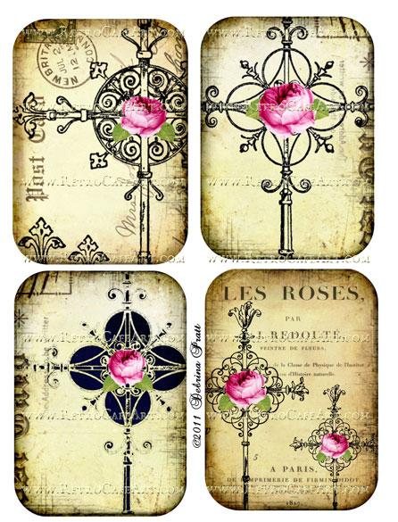 Collage Sheet by Debrina Pratt - DP55