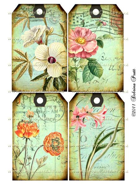 Collage Sheet by Debrina Pratt - DP59