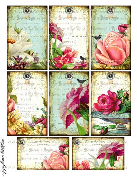 Collage Sheet by Debrina Pratt - DP60